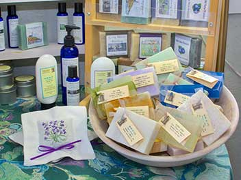 Soaps and lotions